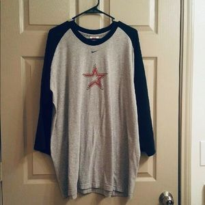 Nike vintage Houston Astros baseball jersey.  XXL